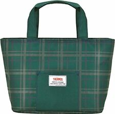 THERMOS Cooler Lunch Bag 4L Green Check RDU-0042 GC from Japan*