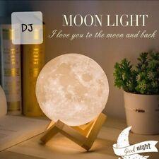3D Moon lamp night light children's toy christmas gift