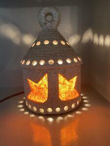 Lanterne, Veilleuse, Céramique / résine ACCOLAY,