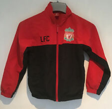 Boy's Oficial Liverpool Rojo Chándal Chaqueta Superior - 8/9 años