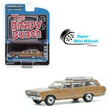 Greenlight 1:64 The Brady Bunch - 1969 Plymouth Satellite Station Wagon (Brown)