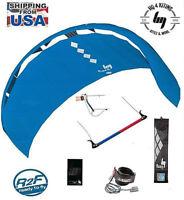 Stunt Kite HQ4 Fluxx 2.2 Trainer Kite-boarding Power + Bar + Lines + Kite Killer