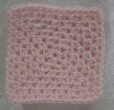 Miniature DOLLHOUSE BABY Crochet Mini BLANKET Afghan Quilt #15