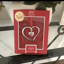 Lenox 2017 Our 1st Christmas Ornament 870940 (New In Original Lenox Box)