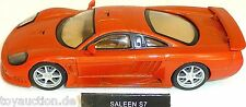 Saleen S7 Sportwagen PKW orange NEU 1:43  µ *