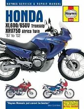Haynes Honda XL600/650V Transalp, XRV750 Africa Twin '87 To '02 by Matthew...