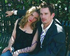 Ethan Hawke & Julie Delpy signed Before Sunset 8x10 Photo - Proof