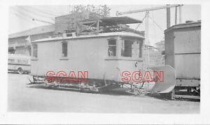 1F517 RP 1936 HAGERSTOWN & FREDERICK RAILWAY LINE REPAIR CAR #29 HAGERSTOWN MD