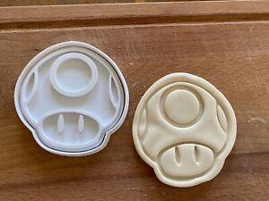 Mario Bros Mushroom (2) Cookie Cutter