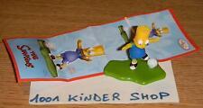 KINDER THE SIMPSONS 2 UN154 UN 154 BART SOCCER FOOTBALL + BPZ JOY (FR)