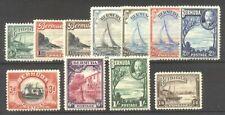 Bermuda #105-14 Mint - 1926 Pictorial Set ($74)