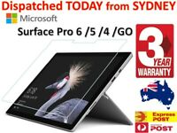 For Microsoft Surface Pro 7 6 5 4 X Book Tempered Glass Screen Protector +Warnty