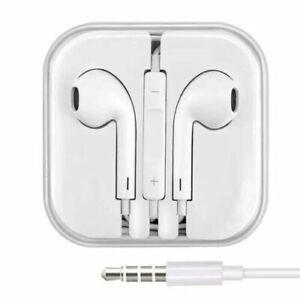 Earphones for Apple iPhones iPad Headphones Handsfree With Mic 3.5MM Connection