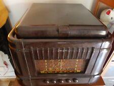 Retro Vintage 78rpm KRIESLER Bakelite Record Turntable Vinyl Player AM Radio