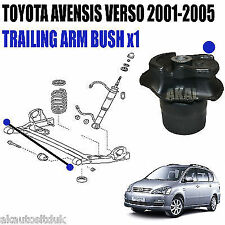 FITS TOYOTA AVENSIS VERSO 01-05 TRAILING ARM BUSH 4 REAR AXLE SUBFRAME x1
