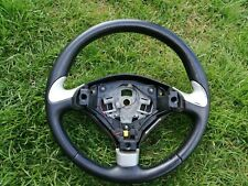 volant cuir d'occasion de Peugeot 307 en bon état , 96467818ZR