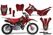 AMR Racing Honda CRF110 F Graphics Kit Bike Decal Sticker Part 13-15 WIDOW BLACK