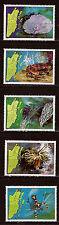 BELIZE 1982  Corails, Crustacés n° 646-650   belle côte 36,75$    28m265t3