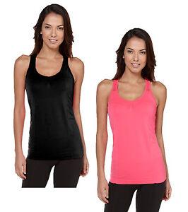 Adore Sports Racer Back Gym Running Top Vest - Black or Pink - Sizes 6-16