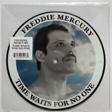 """FREDDIE MERCURY TIME WAITS FOR NO ONE"""" PICTURE DISC VINYLE 7""""  COLLECTOR NEUF"""
