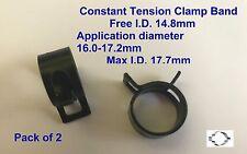 Chiusura fascia tensione costante (CTC10148) Min.16.0-17.2mm MAX. x 2