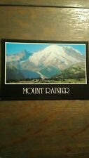 VINTAGE POST CARD FROM SUNRISE LODGE MT RAINIER NATIONAL PARK WASHINGTON