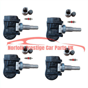 Discovery 4 TPMS Valves 433Mhz set Tyre Pressure Monitoring Sensor TG1C FW931A15