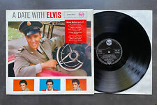 LP Elvis Presley - A Date With Elvis - RCA LPM 2011 Army PX