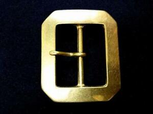 Solid Brass buckle Wide 50mm  buckle  Produced in Asakusa, Japan.