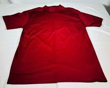 NIKE Golf, Nike Fit Dry, Athletic RED Golfing Shirt Short Sleeve MENS XXL, TTG,