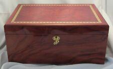 Cedar Wood Lined Cigar Case Humidor