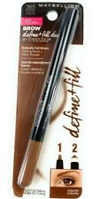 Lot of 3 Maybelline Brow Define + Fill Duo 265 Auburn Authentic NIB Sealed