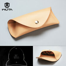 WUTA  Eyeglasses Case Template Set Acrylic Leather Pattern Diy Design WT835