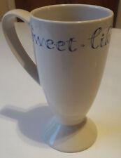 Whittard 'Sweet Like Chocolate' Tall Latte / Hot Chocolate Mug