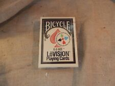 SEALED Deck of Bicycle Lo-Vision EZ See Playing Cards