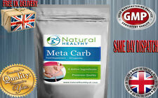 META CARB WEIGHT LOSS PILLS SUPER STRENGTH BELLY FAT REDUCER - BLOOD SUGAR LEVEL