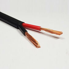 4.5mm2 Twin Core Thinwall Cable Red/Black Two 2 Core 42 Amp Wire 5 Metre Roll