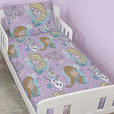 Disney Frozen Junior Cot Bed 4 in 1 Bundle Duvet Cover Bedding Set Girls
