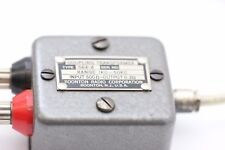 BOOTON COUPLING TRANSFORMER TYPE 654-A 1KC - 50KC IN:500 OUT:0.3 OHM NOS CA295U1