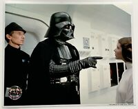 Star Wars photo carrie fisher leia darth vader official pix 8x10
