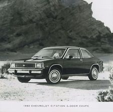 1980 CHEVROLET CITATION COUPE PRESSEBILD PRESSPHOTO PRENSA PERSFOTO **ORIGINAL**