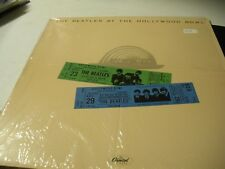 The Beatles At The Hollywood Bowl 1977 EX SMAS 11638 Capitol shrink Nice