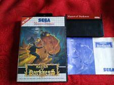 Jeu Sega master system master of darkness