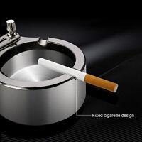 Retro Metal, Ten Thousand Match Lighter Multi function Ashtray UK SELLER