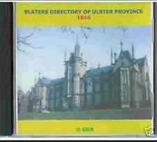 GENEALOGY DIRECTORY OF ULSTER 1846 CD ROM