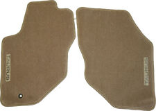 New OEM Floor Mats for Ford Taurus Medium Parchment Tan Front 96-07