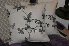 Cushion Cover Made in John Lewis, Verbena charcoal
