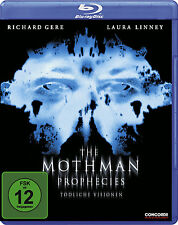 Blu-ray *   THE MOTHMAN PROPHECIES - DIE MOTHMAN PROPHEZEIUNGEN # NEU OVP $