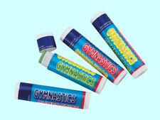Gymnastics Lip Balm Moisturizer - Vitamin E & Paba Free - 4 Flavor Choices