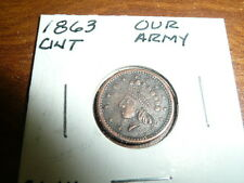 Indian Head Civil War Token-Our Army